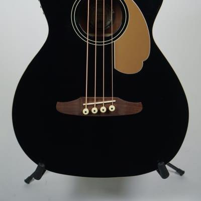 Fender Kingman Acoustic Bass Black for sale