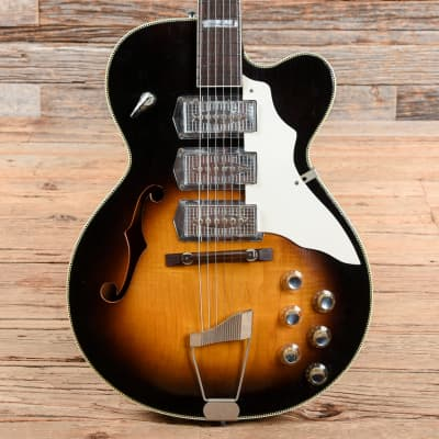 Kay K673 Swingmaster Sunburst 1960s for sale