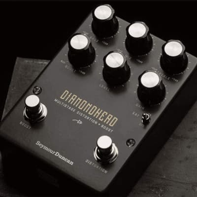 Seymour Duncan11900-016 Diamondhead Multistage Distortion + Boost Pedal
