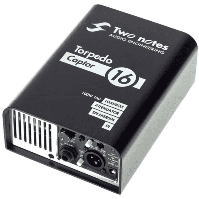 [FREE Intl Shipping] Two Notes Torpedo Captor Loadbox / Attenuator / DI - 16 Ohm