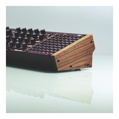 Upgraded Walnut Cheeks for Behringer Semimodular Eurorack Synthesizer Modules