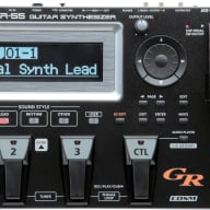 Roland GR55-BK-S Guitar Synthesizer Without GK-3 Pickup