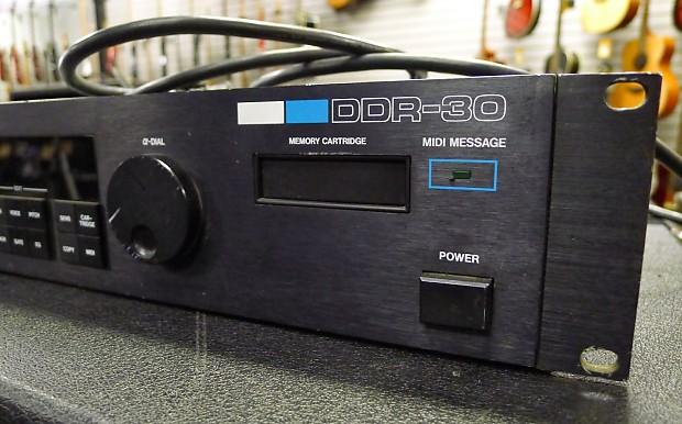 Roland Ddr 30 Digital Drum Machine Module Vintage Rack