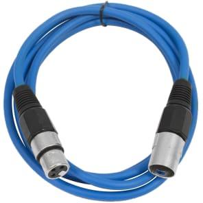 Seismic Audio SAXLX-6 XLR Male to XLR Female Patch Cable - 6'