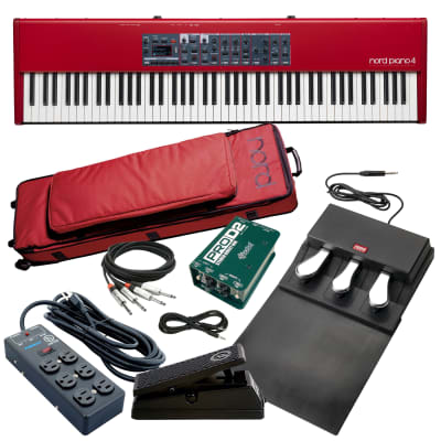 Nord Piano 4 Stage Piano - Stage Rig