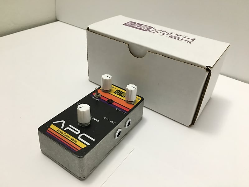 atari punk console synthrotek pedal version cv inputs out
