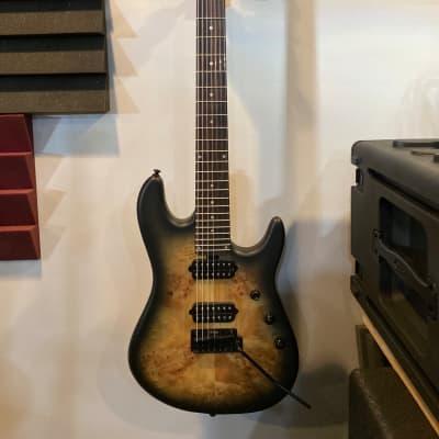 Sterling by Music Man Jason Richardson Signature Cutlass 7-String Electric Guitar Burl for sale