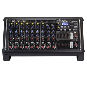 PEAVEY XR-AT 1500w Peak Powered 9Ch Antares Built-In Pitch Correction FX Mixer