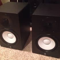 "Yamaha HS7 6.5"" Powered Studio Monitor (Pair) Black image"