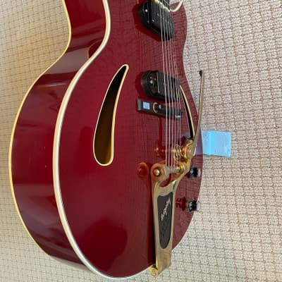 Triggs Archtop 1997 Red for sale