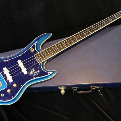 Guyatone EB-9 S/N9800002 1998 Metallic Blue for sale
