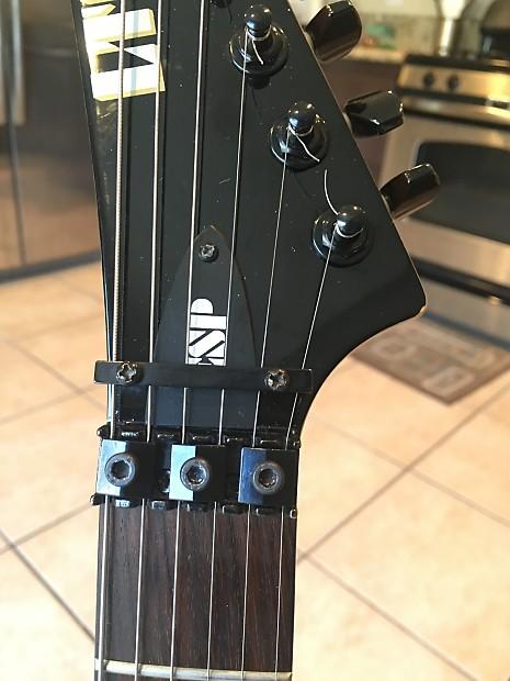 ESP LTD M-100 HH Floyd Rose Tremolo Bridge | Duane's Gear M Esp Guitar Wiring Diagram on