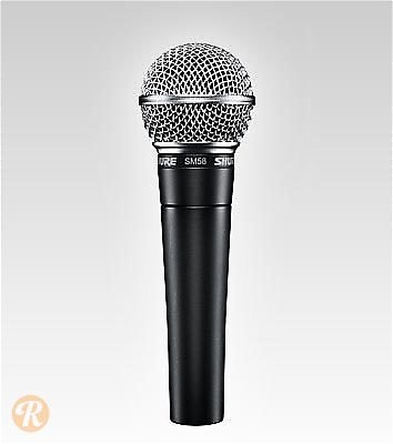 shure sm58 dynamic microphone price guide reverb. Black Bedroom Furniture Sets. Home Design Ideas