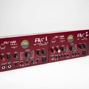 TL Audio FAT 1 / FAT 2 Fatman Series Racked Set