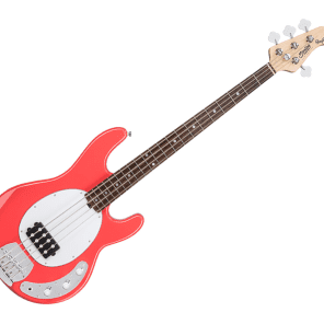 Sterling by Music Man RAY4-FRD-R1 StingRay in Fiesta Red for sale