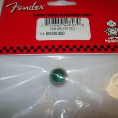 Genuine Fender ON//OFF GREEN Amp Jewel Indicator Tube Amplifier 099-0951-000