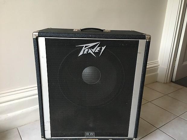 Peavey 115 BW 1x15 Bass Speaker Cabinet | Reverb
