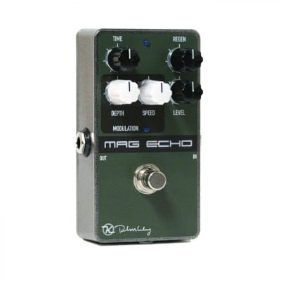 Used Keeley Mag Echo Magnetic Echo Modulated Tape Echo Guitar Effects Pedal