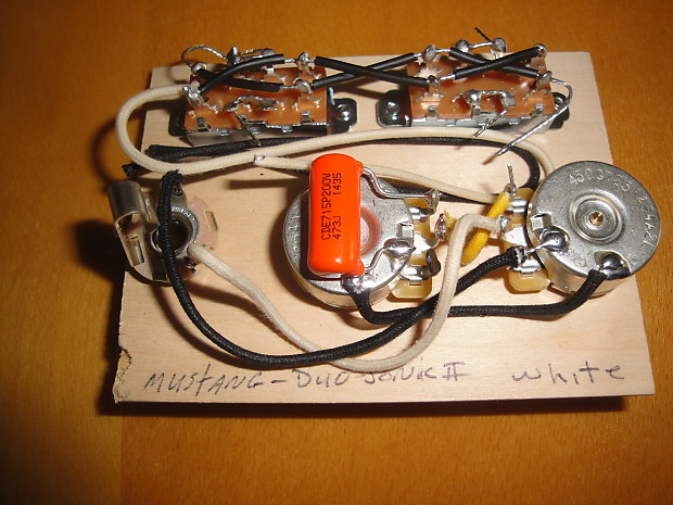 Fender Mustang Wiring Harness
