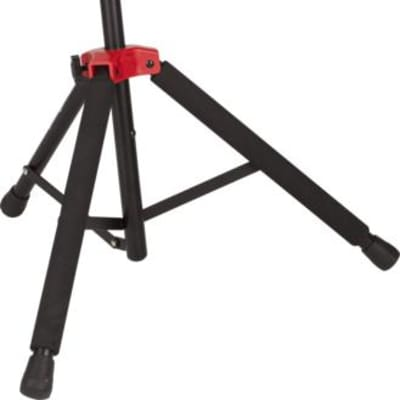 Fender Deluxe Hanging Guitar Stand - Black/Red for sale