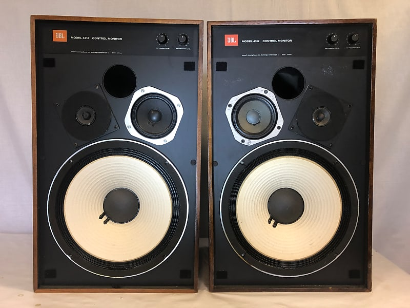 JBL 4312 Control Monitor. Speakers Pair | VINTAGREEN | Reverb