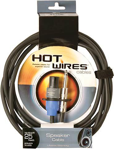 sp1425sq 14ga 25 nl2 to 1 4 speaker cable reverb. Black Bedroom Furniture Sets. Home Design Ideas