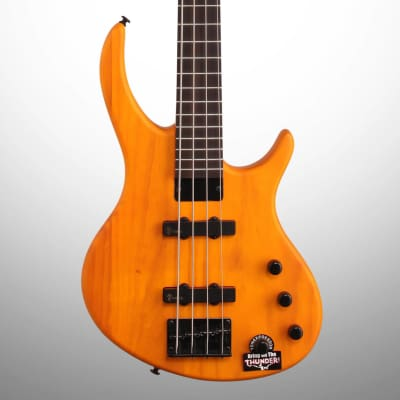 Tobias Toby Deluxe IV Electric Bass, Amber Satin for sale