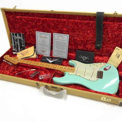 Fender Custom Shop Dealer Select 59 Statocaster 2013 Seafoam Green