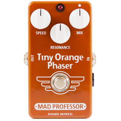 Mad Professor Tiny Orange Phaser Guitar Effects Pedal - Handwired for sale
