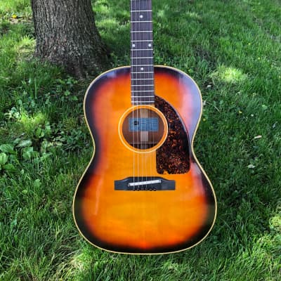Vintage Epiphone FT-45 Cortez Sunburst 1967 (Gibson LG-2) for sale