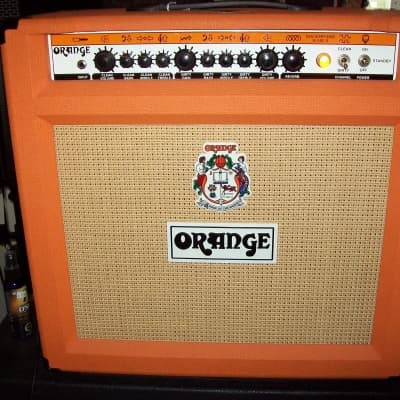 oran023 ORANGE ROCKERVERB 50C MK II 2x12 COMBO AMP VINYL AMPLIFIER COVER