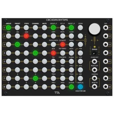 Tiptop Audio Circadian Rhythms Grid Sequencer, Black