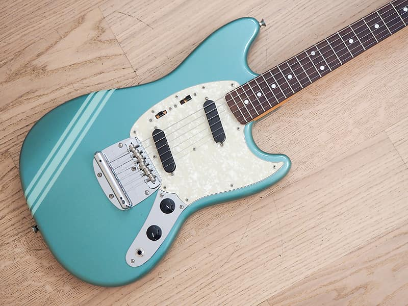 2011 Fender Competition Mustang 73 Vintage Reissue Ice