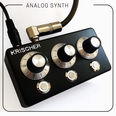 Krischer - Analog Polyphonic Synthesizer, Drone // BLACK EDITION \\ 2CV