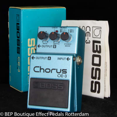 Boss CE-3 Chorus Ensemble 1983 s/n 341300 Japan as used by David Gilmour