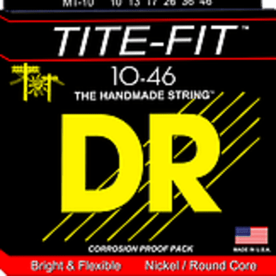 DR TITE-Fit Electric Guitar Strings 10-46 - 9-42