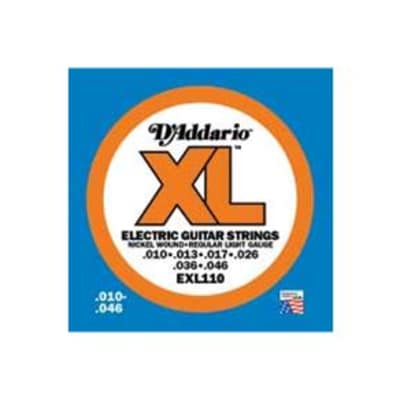 D`Addario EXL110-3D 3 Pack of Regular Light Electric Guitar Strings