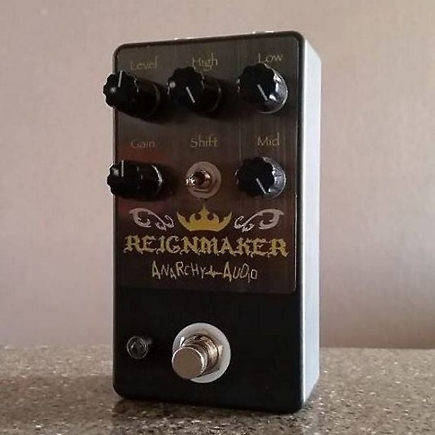 anarchy audio reignmaker high gain distortion pedal for reverb. Black Bedroom Furniture Sets. Home Design Ideas