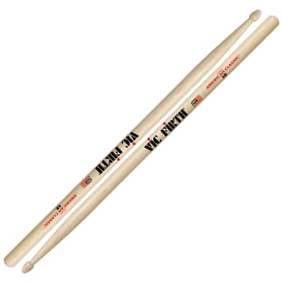 Vic Firth American Classic Hickory 5B Drumsticks Natural - 5B