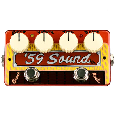Zvex Limited Run Hand Painted '59 Sound Overdrive Pedal