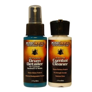 Music Nomad MN117 Drum Detailer/Cymbal Cleaner Combo Pack - 2oz