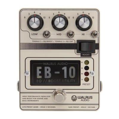 Walrus Audio EB-10 EQ / Boost Utility for sale