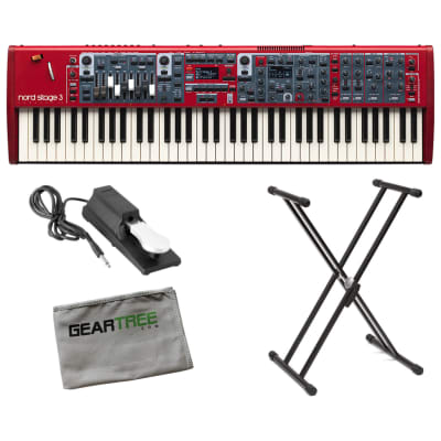 Nord Stage 3 Compact 73-Key Semi-Weighted Keyboard Bundle