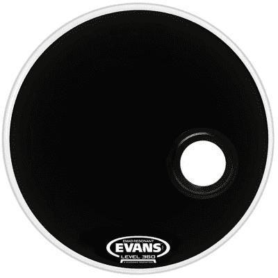 "Evans BD26REMAD REMAD Resonant Bass Drum Head - 26"""