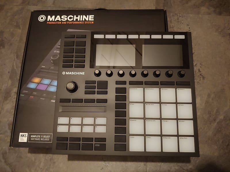 Native Instruments Maschine MkII + Komplete 12 Ultimate | Reverb