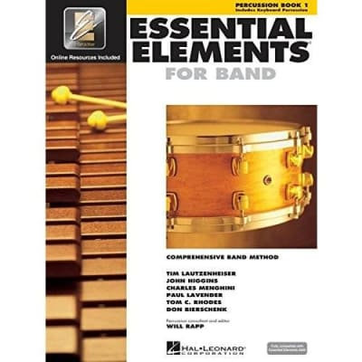Essential Elements for Band - Percussion | Book 1 (w/ EEi)
