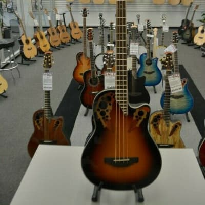 Ovation Celebrity Elite New England Burst Bass for sale