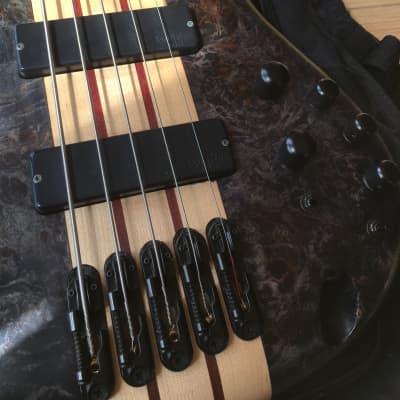 Ibanez SRSC805DTF Electric Bass Deep Twilight Flat