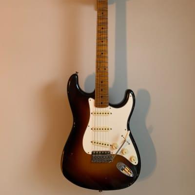 Fender Custom Shop Ancho Poblano Relic '56 Stratocaster  2019 Wide Fade Two Tone Sunburst for sale