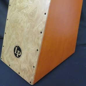Latin Percussion LP1433 Angled Surface Burl Cajon